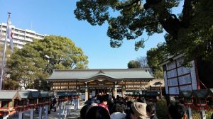 香具波志神社の混雑具合