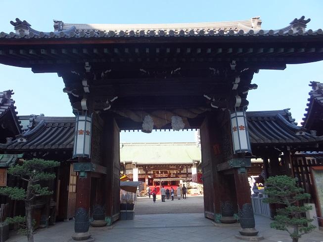 大阪天満宮表門