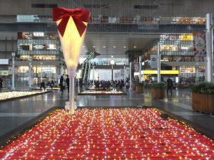 クリスマスイルミJR大阪駅