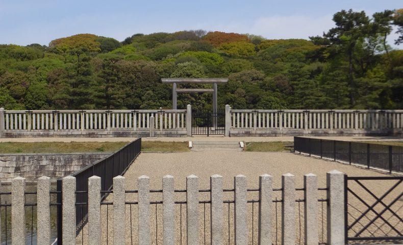 仁徳天皇陵の拝所