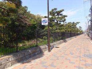仁徳天皇陵を囲む堀